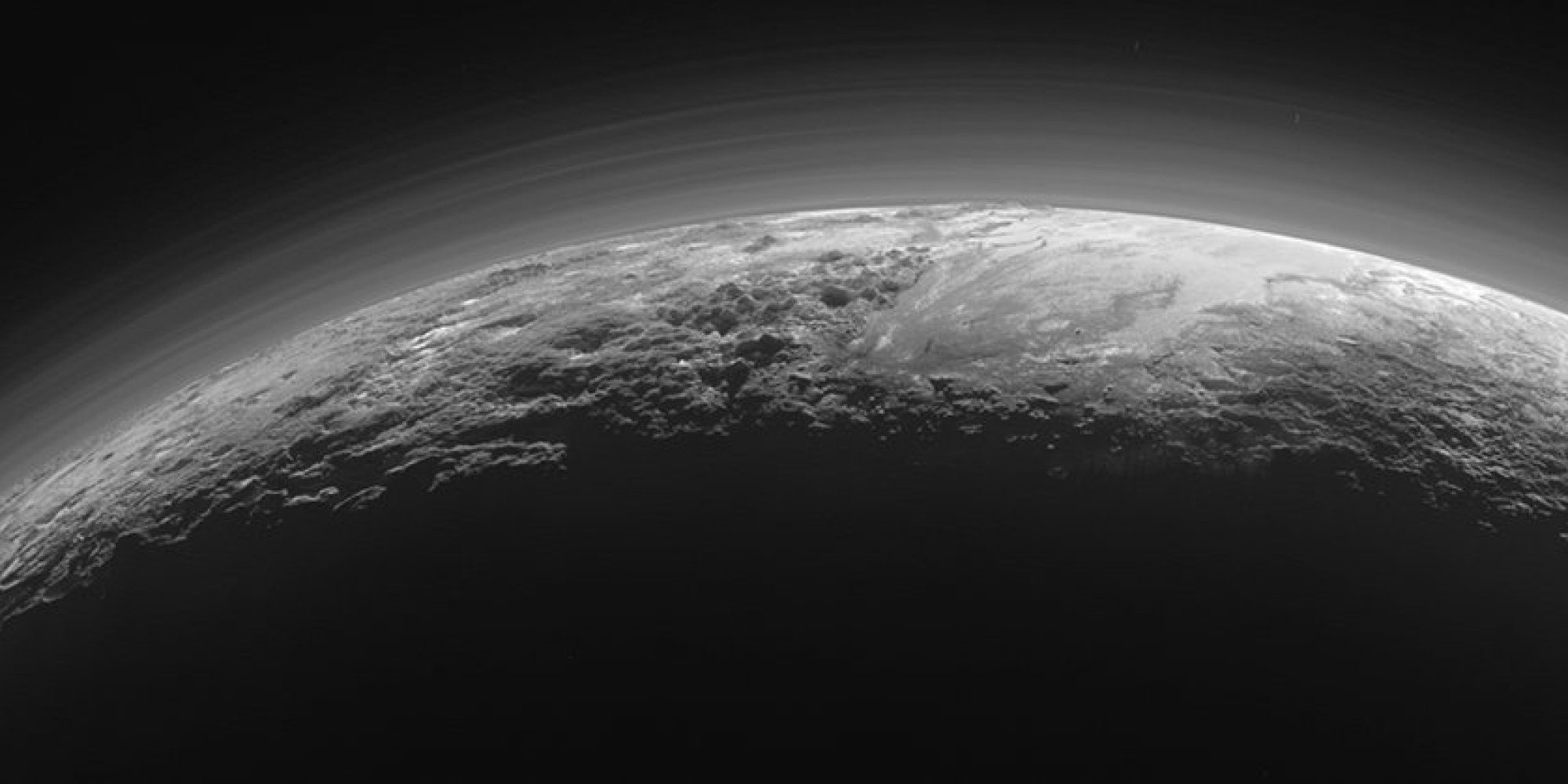 NASA's New Horizons Images Of Pluto Reveal Its ...