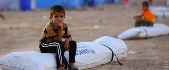 IRAQI CHILD REFUGEES