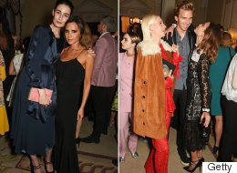 VB And Alexa Mingle With Models At Vogue #LFW Party