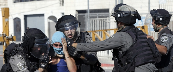 ISRAELI POLICE ALAQSA MOSQUE