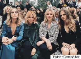 Burberry Prorsum Was The Best Place For #LFW Celeb Spotting