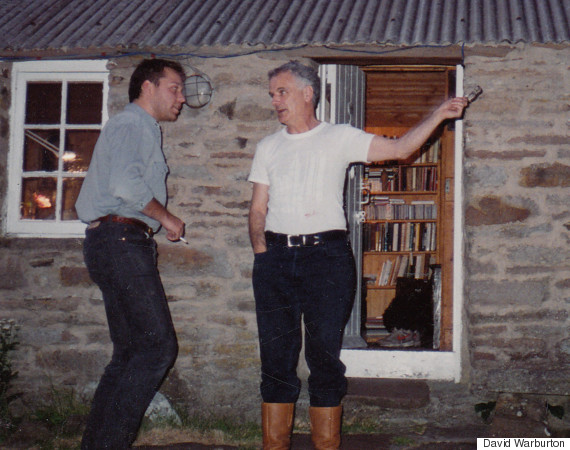 david warburton and sir peter maxwell davies