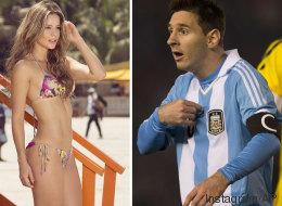 Bella reportera asegura que Messi es colombiano
