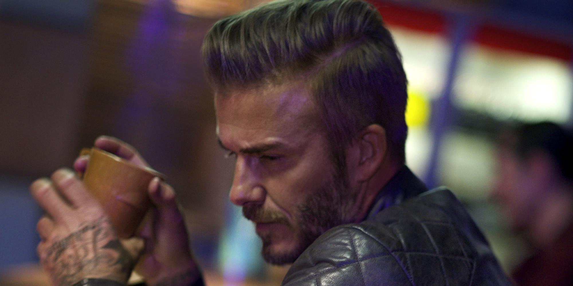 David Beckham Turns Actor In Arty Short Film 'Outlaws' For ... David Beckham Facebook