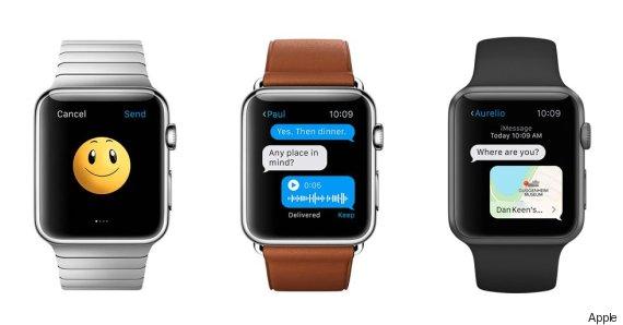 apple watch communication