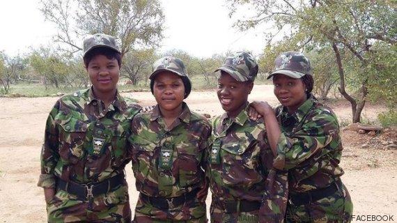 equipe contra a caça ilegal