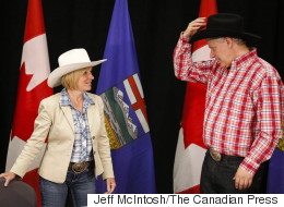Alberta Premier Refuses To 'Engage In Politics' With Harper