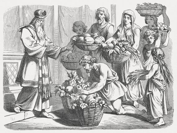 israelites sacrifice