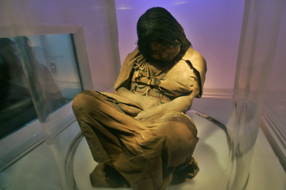 inca sacrifice