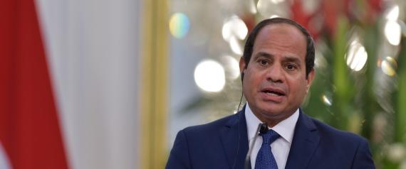 EGYPTIAN PRESIDENT ABDEL FATTAH ALSISI