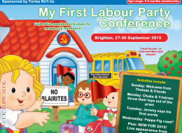 My First Labour Party Conference: In Stores Now!
