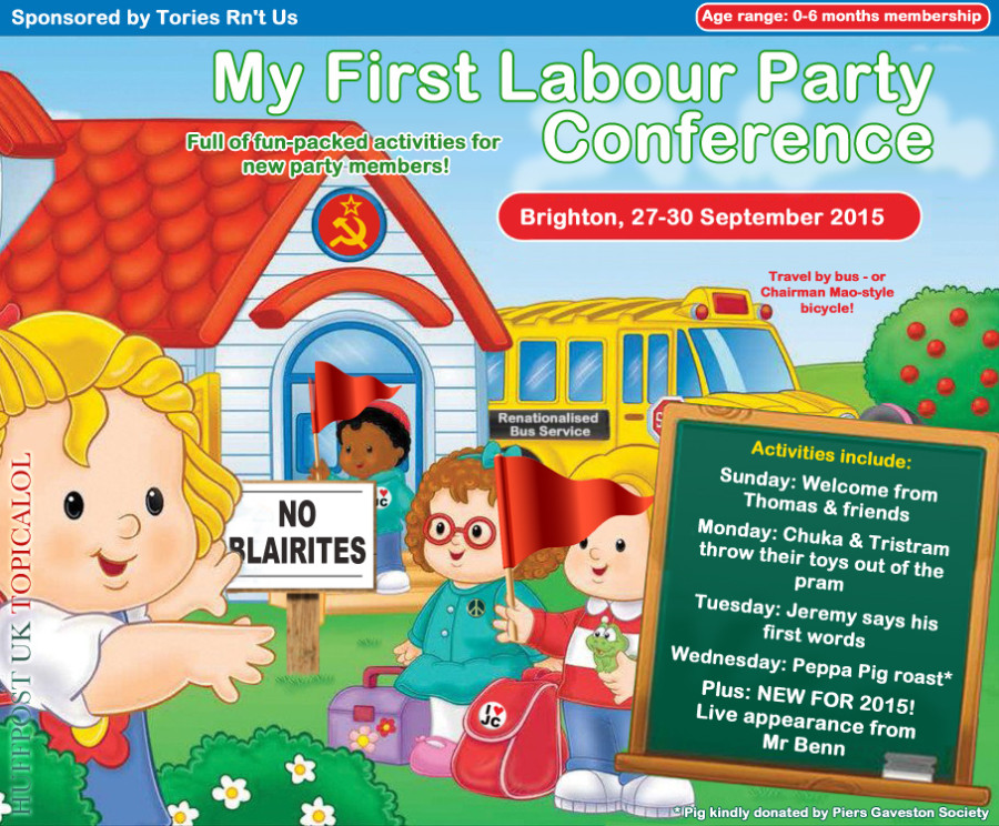 my first labour party conference