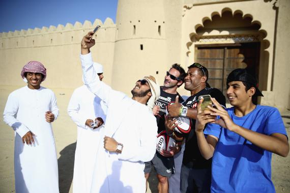 arab selfie