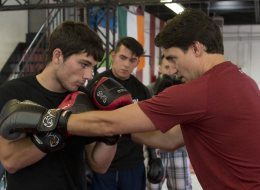 Trudeau Goes Boxing Before French-Language Debate