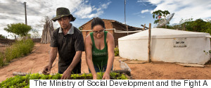 THE MINISTRY OF SOCIAL DEVELOPMENT AND THE FIGHT A
