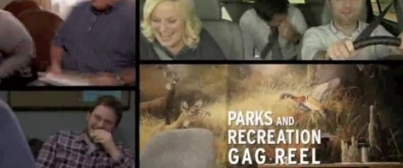 PARKS AND REC GAG REEL