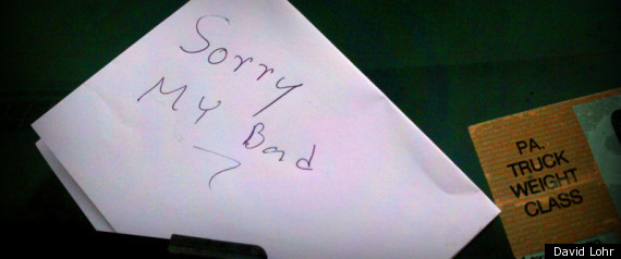 Thief Returns Stolen Truck Leaves Apology Note