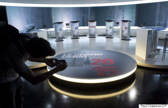 french leaders debate canada
