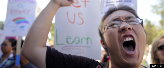 MUSLIM STUDENT PROTEST