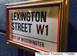 London's Street Signs Are Being Framed By Masked Artists And People Love It