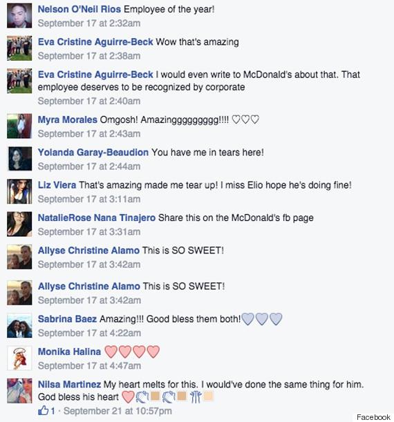 mcdonalds praise chicago