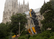 Crane Collapses At National Cathedral In Washington, D.C.