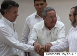 Víctimas de las FARC reaccionan a acuerdo histórico con el gobierno
