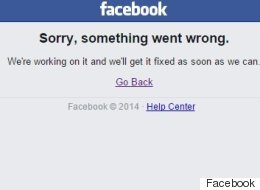 Facebook Goes Down For 10 Minutes. 60,000 People Tweet About It.