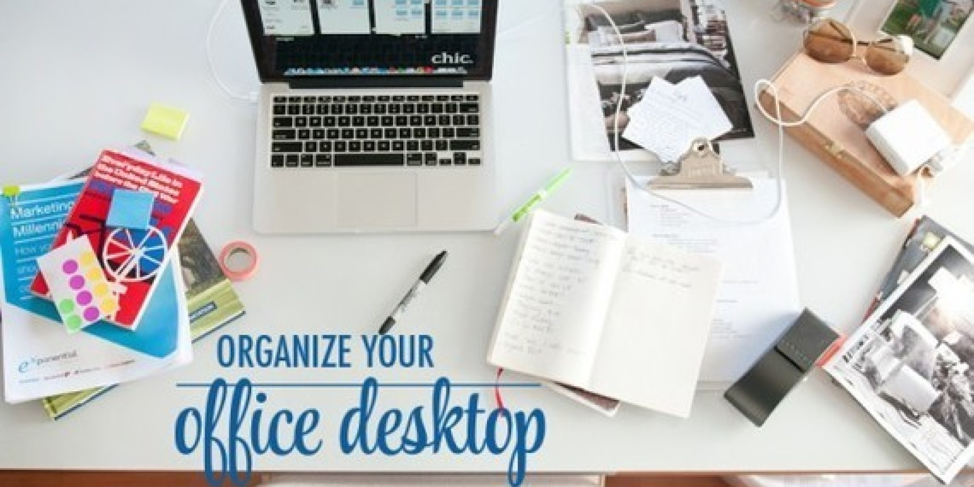 How To Organize Your Office 6 hacks to organize your office space | huffpost
