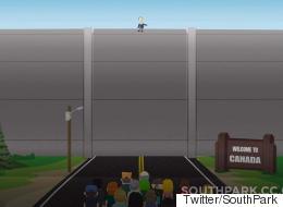 L'idée d'un mur entre le Canada et les États-Unis fait des petits sur Twitter