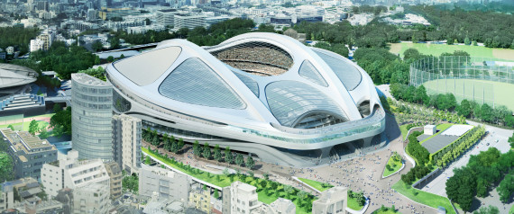 NEW NATIONAL STADIUM JAPAN