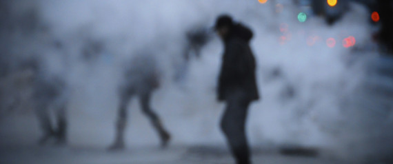 MAN WALKING TORONTO SHADOW
