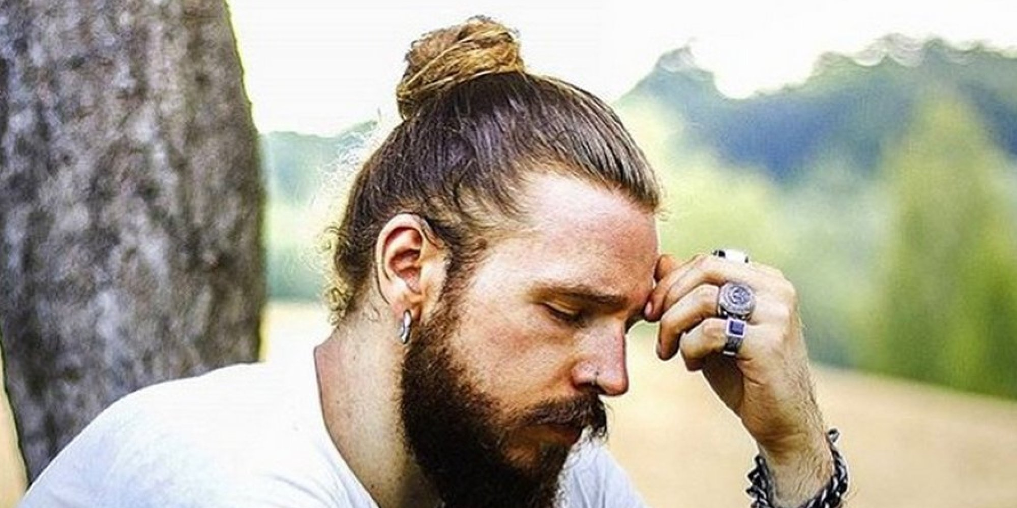 man buns may be making you bald try man braids instead huffpost uk. Black Bedroom Furniture Sets. Home Design Ideas