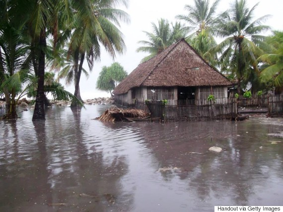 kiribati flooding