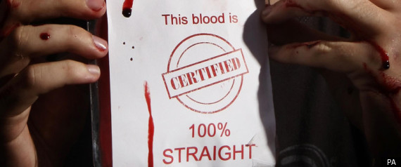 the gay blood ban is it Following the aids epidemic across britain, a lifetime ban on donating blood was  placed on all gay and bisexual men gay and bisexual men accounted for the.
