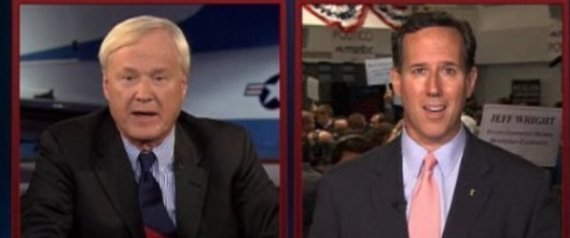 CHRIS MATTHEWS RICK SANTORUM