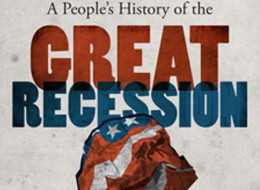 HuffPost's First e-Book: <i>A People's History of the Great Recession</i>