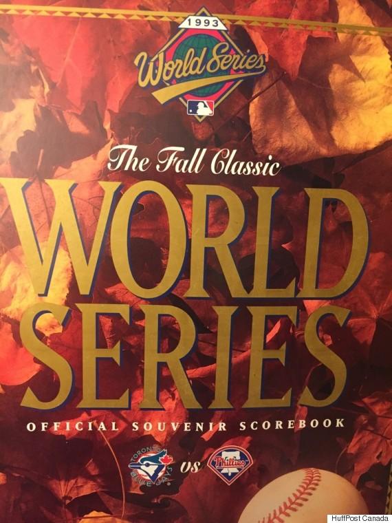 world series scorebook
