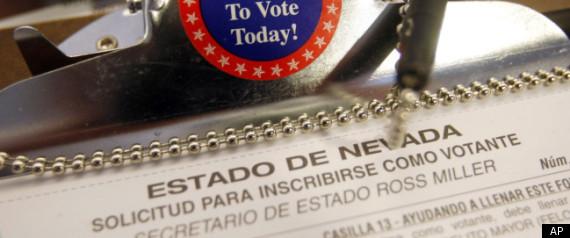 HISPANIC VOTE 2012 CHOICES