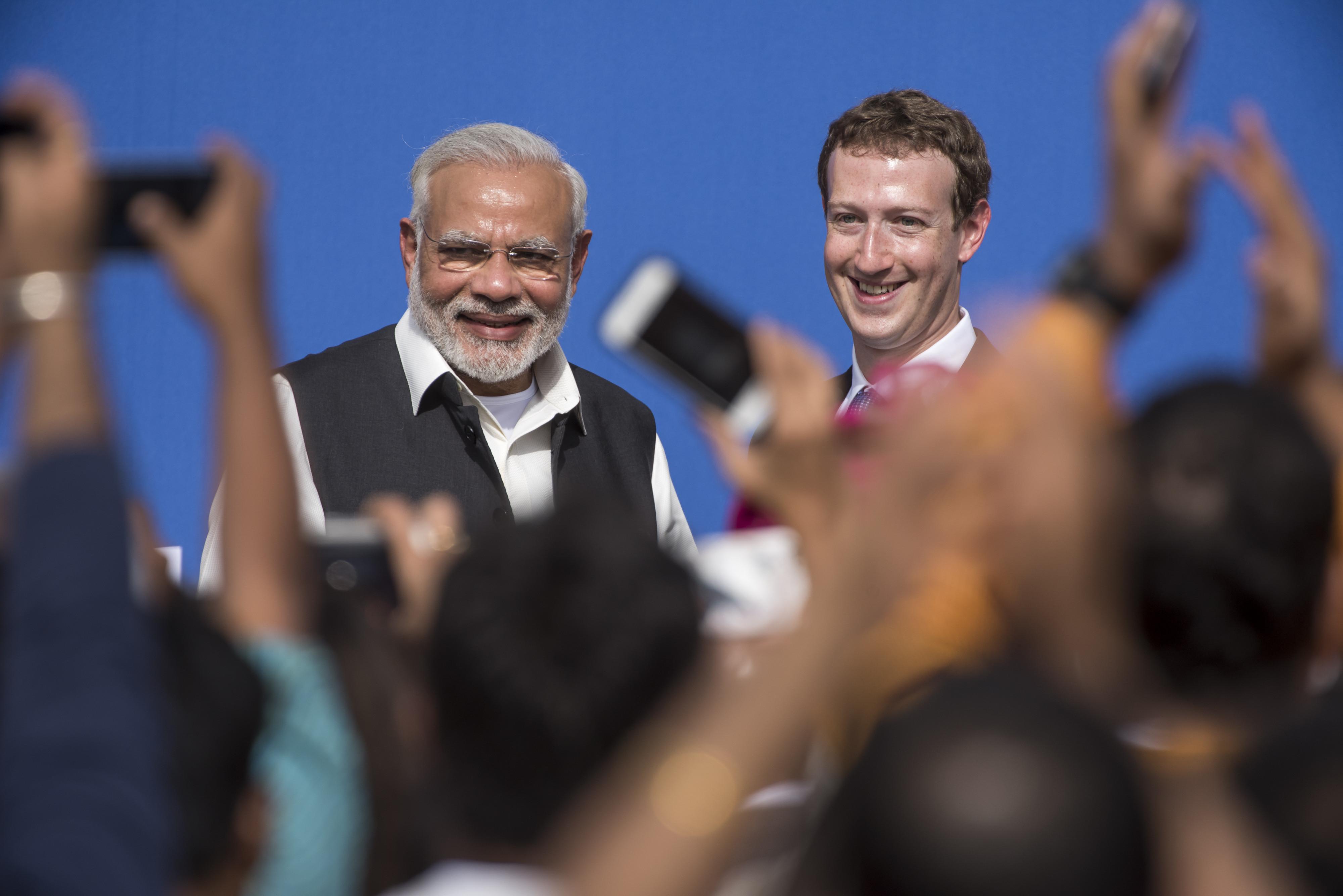 narendra modi facebook