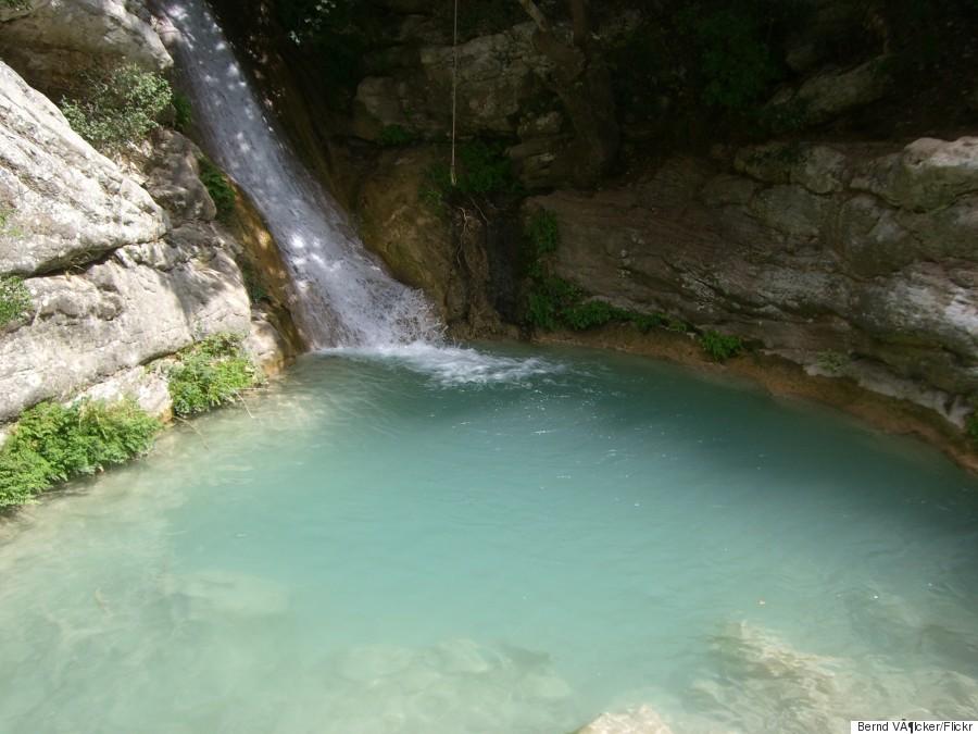 neda waterfalls