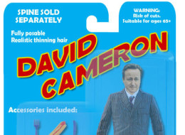 In Stores Now: The Fully Posable David Cameron Action Figure