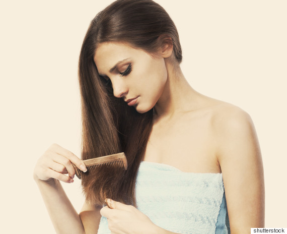 woman hair loss