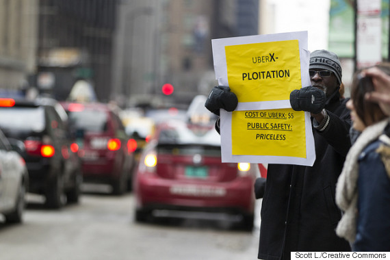 uber protesto