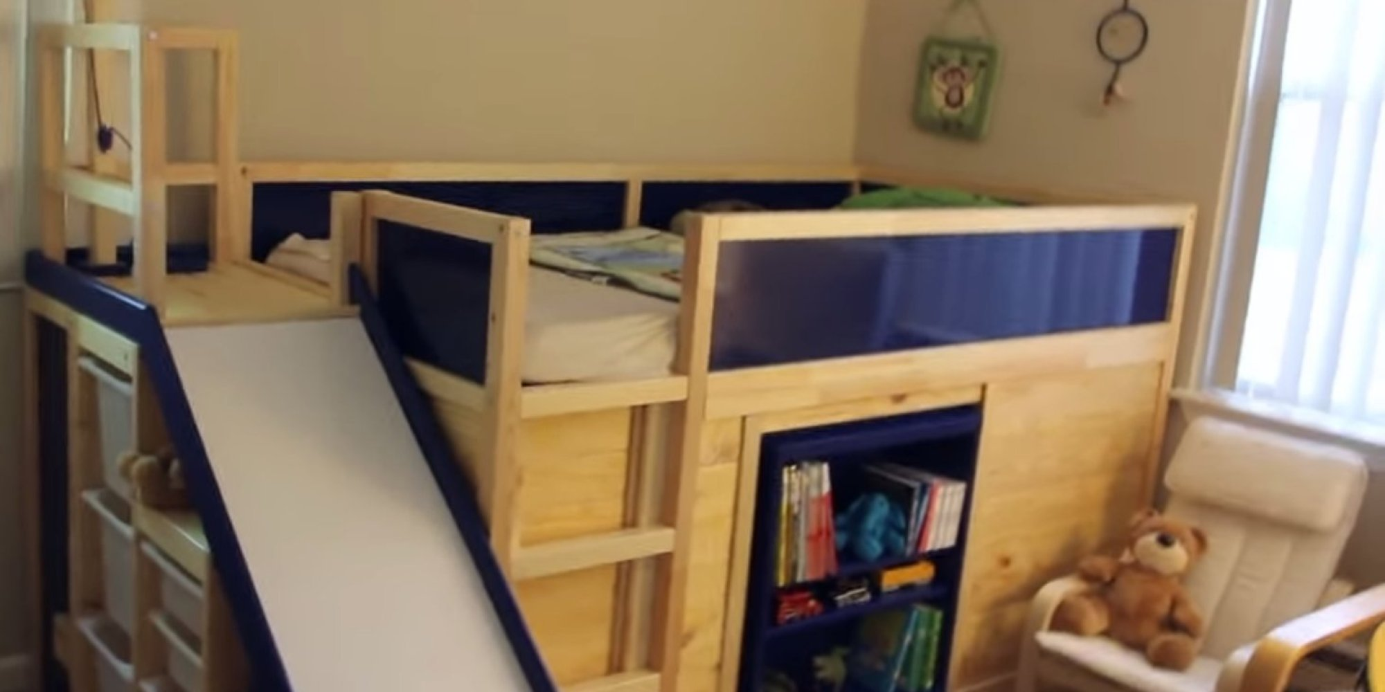 ikea hack makes for 39 most awesome 39 kids 39 bed ever. Black Bedroom Furniture Sets. Home Design Ideas