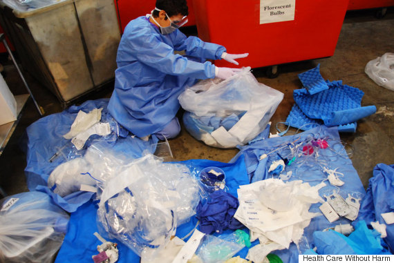 hospital waste audit