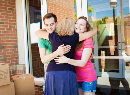 When Your Child Goes Off To College: 4 Steps To Grieving