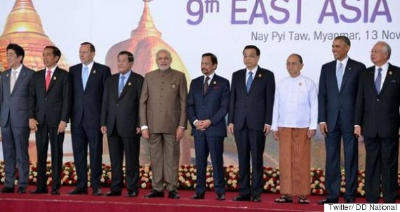 east asia summit modi