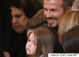 David Beckham Reveals He 'Saved' Harper's Long Hair