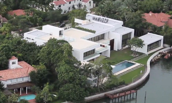 Alex rodriguez miami home yankees star 39 s 24 million for Celebrity homes in florida
